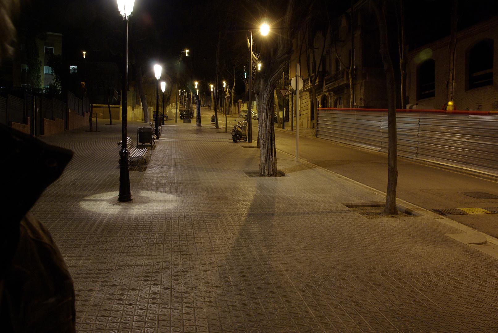 el espía nocturno