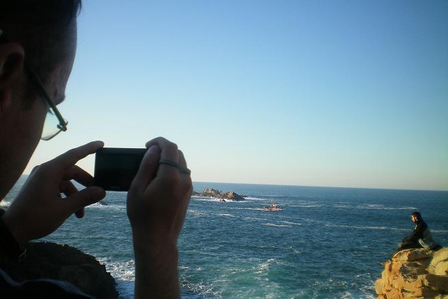 El fotógrafo cazado