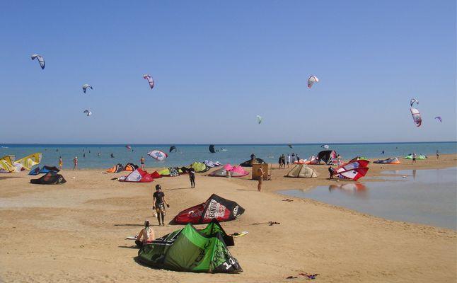 El Gouna Mangroove Beach Kite Surfing