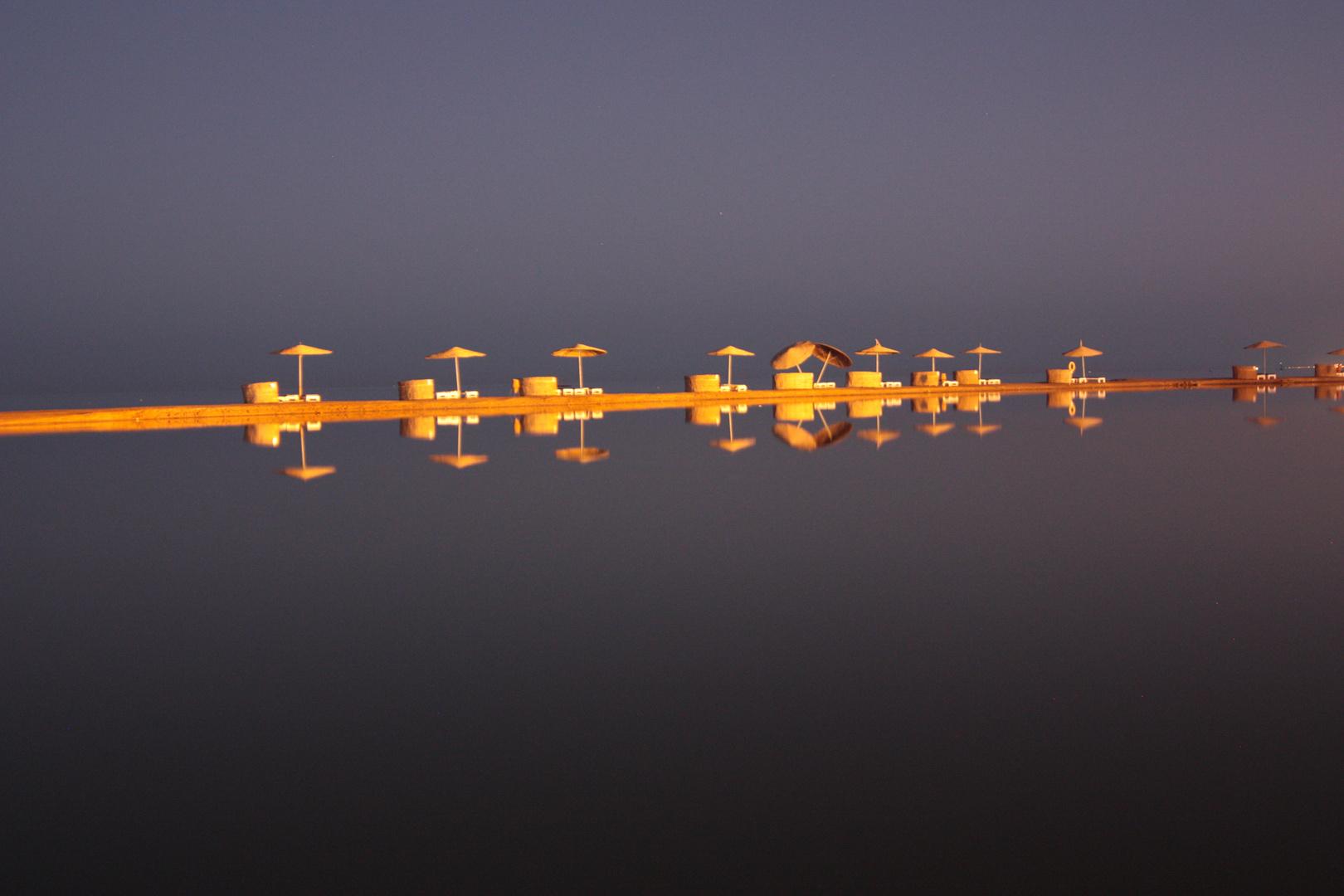 EL Gouna - Windstille bei Nacht