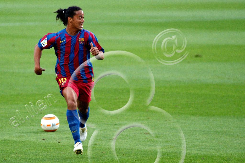 El hombre de la gran Sonrisa, Ronaldinho