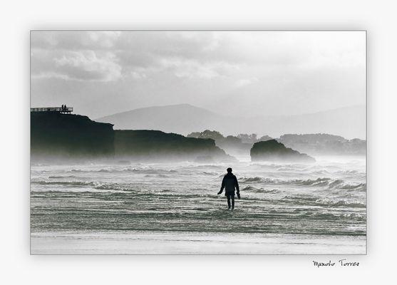 El hombre y el mar (para Goyo)