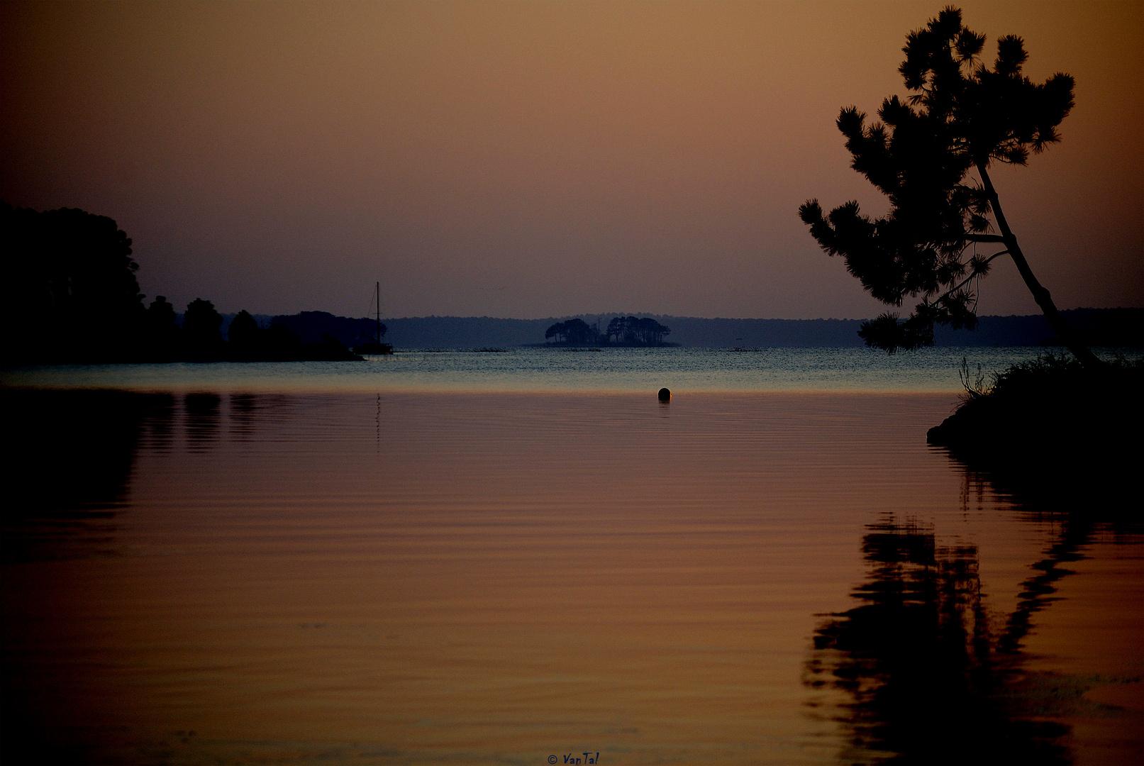 El horizonte es más cerca por la tarde que por la mañana..