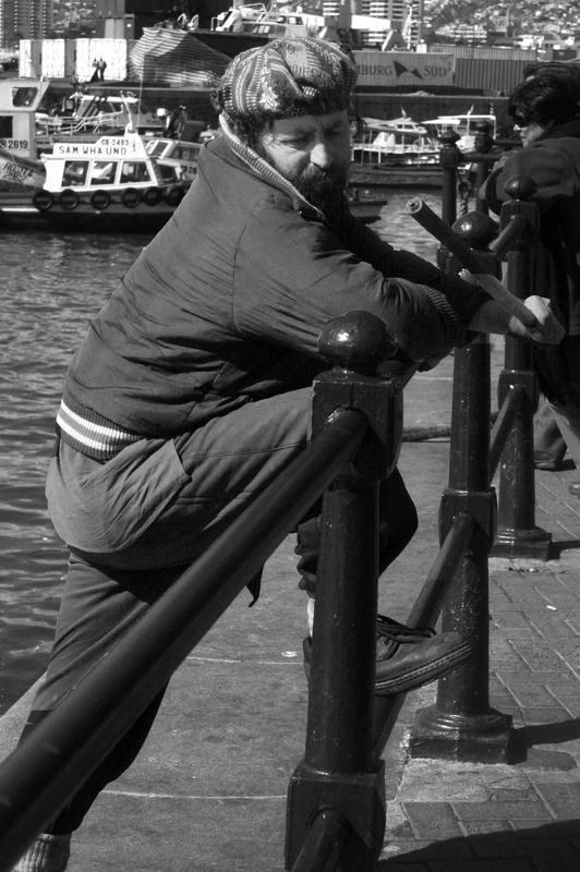 el loco del puerto