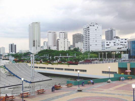 El malecon en Guayaquil, ECUADOR
