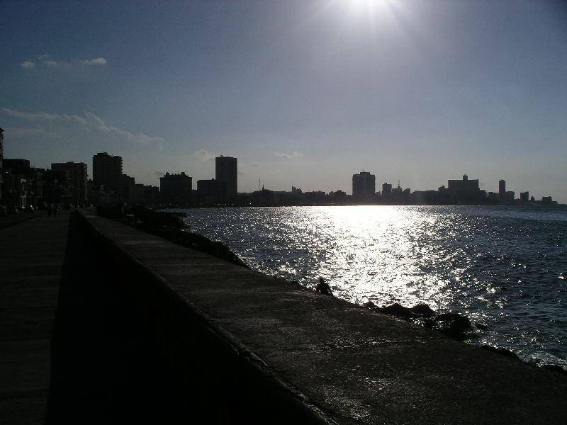 El Malecón en la Havana