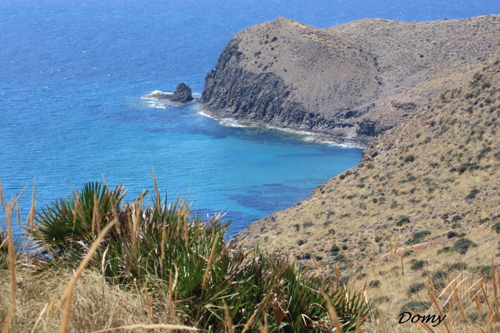 El mar Azul...