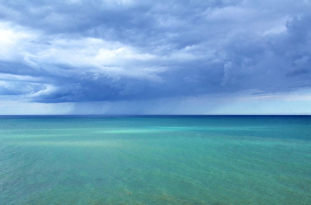 El mar de Sicilia desde Selinunte