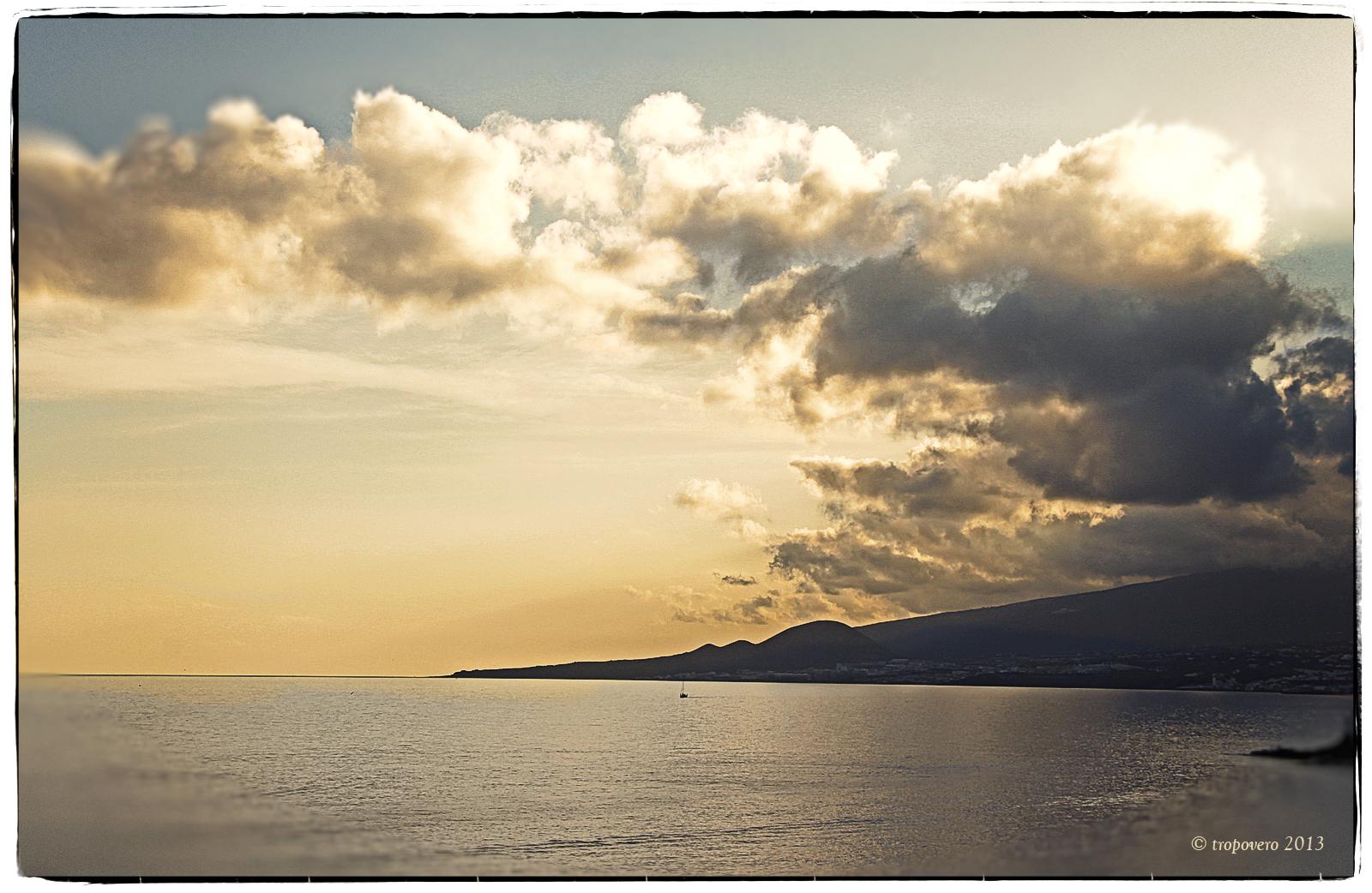 El mar y el cielo...