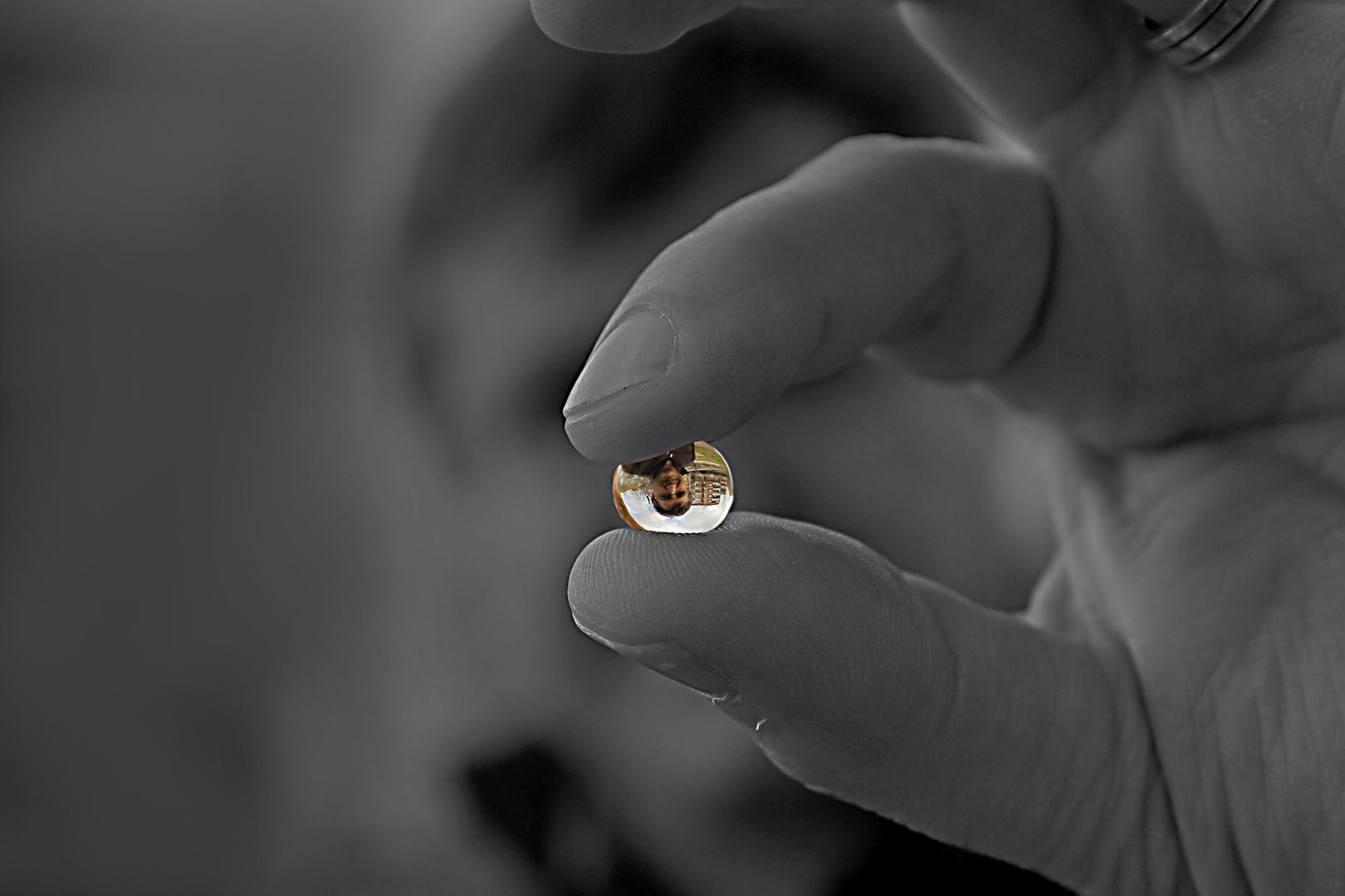 El mundo a través de un cristal