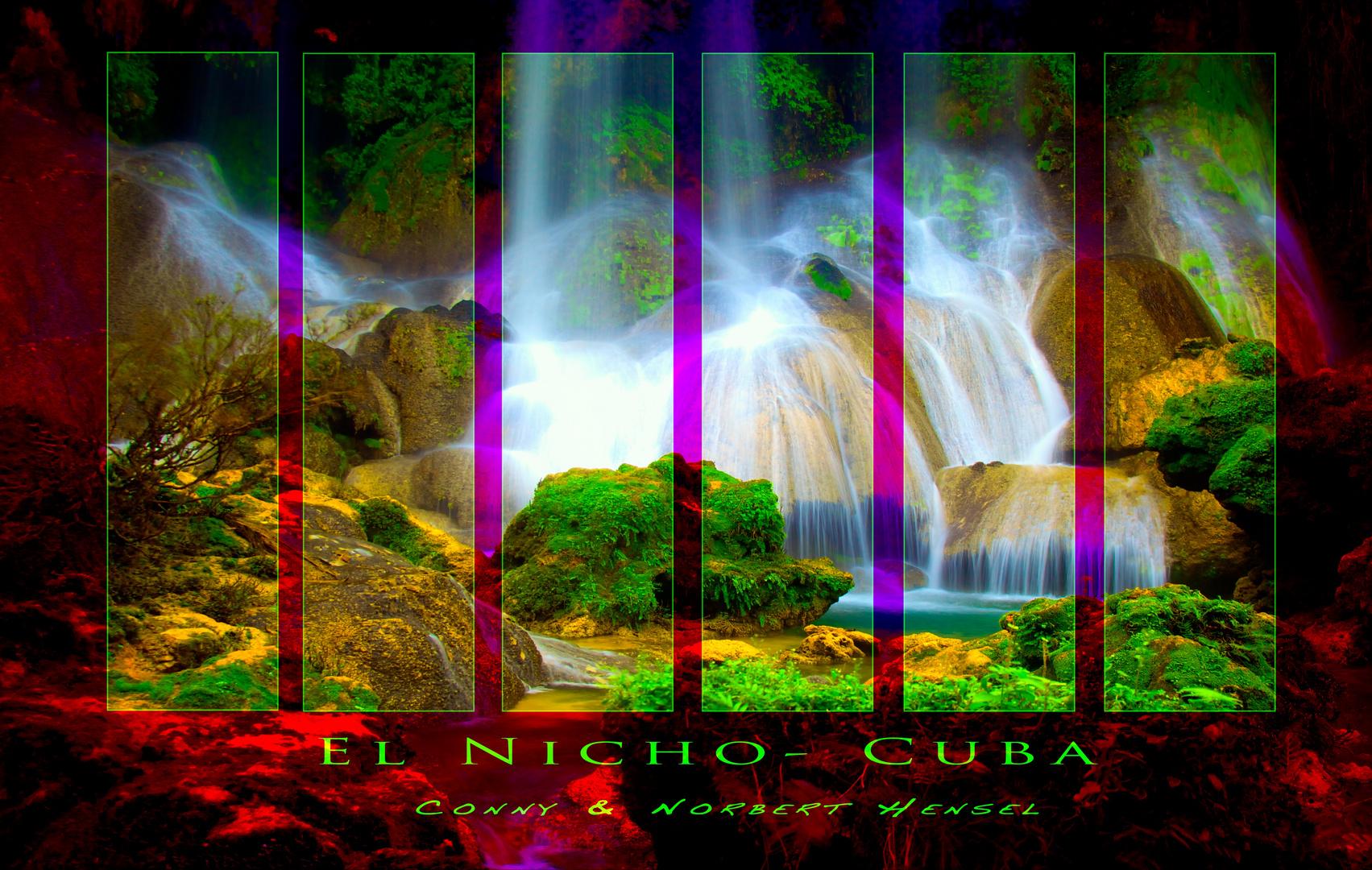 El-Nicho Wasserfall