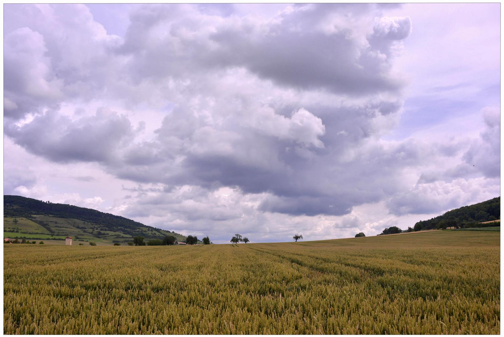 el paisaje bonito cerca de mi pueblo (schöne Landschaft um meinem Dorf)