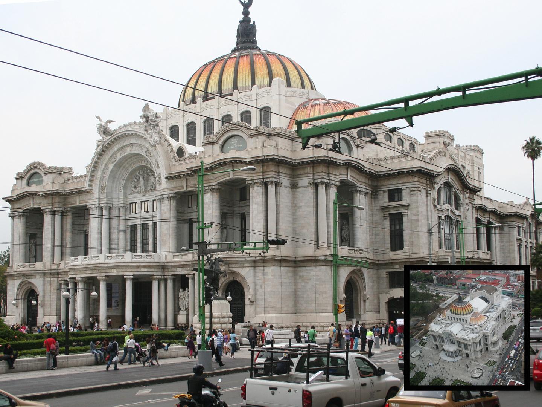 EL PALACIO DE LAS BELLAS ARTES C.D. DE MEXICO