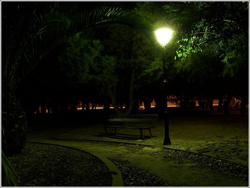 el parque...
