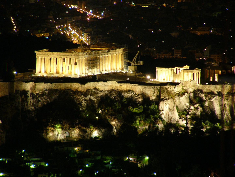 El Partenon de Grecia (The Pertenon un grece)