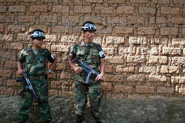 El pasado de la guerra civil de El Salvador