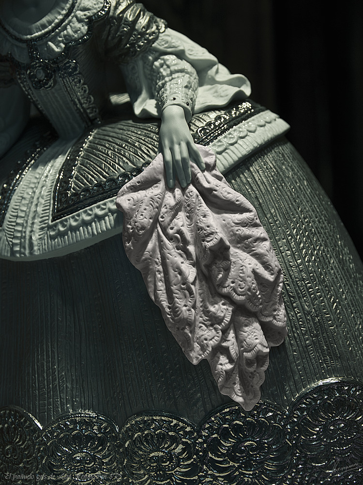 El pañuelo gris de Las Meninas en 3D
