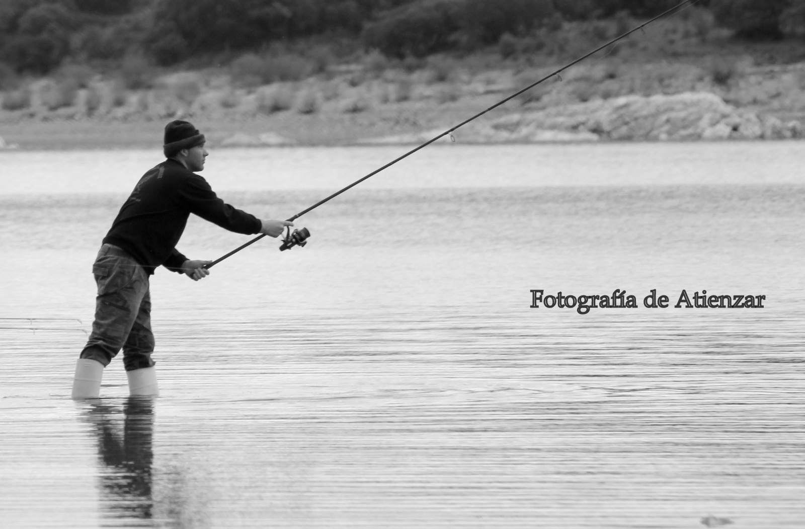 El pescador.