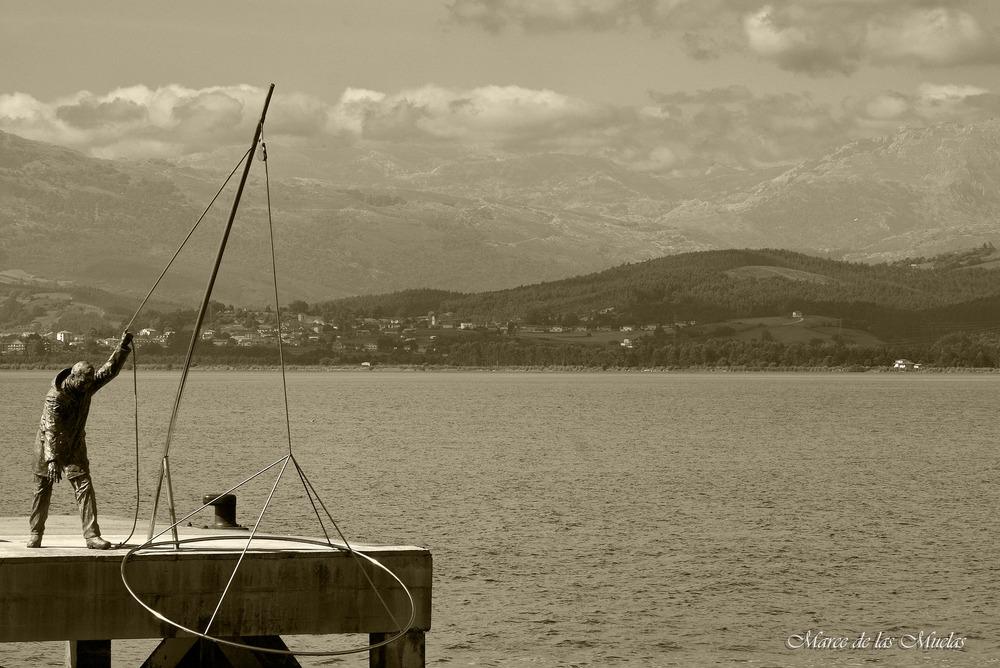 ...el pescador de Santoña...