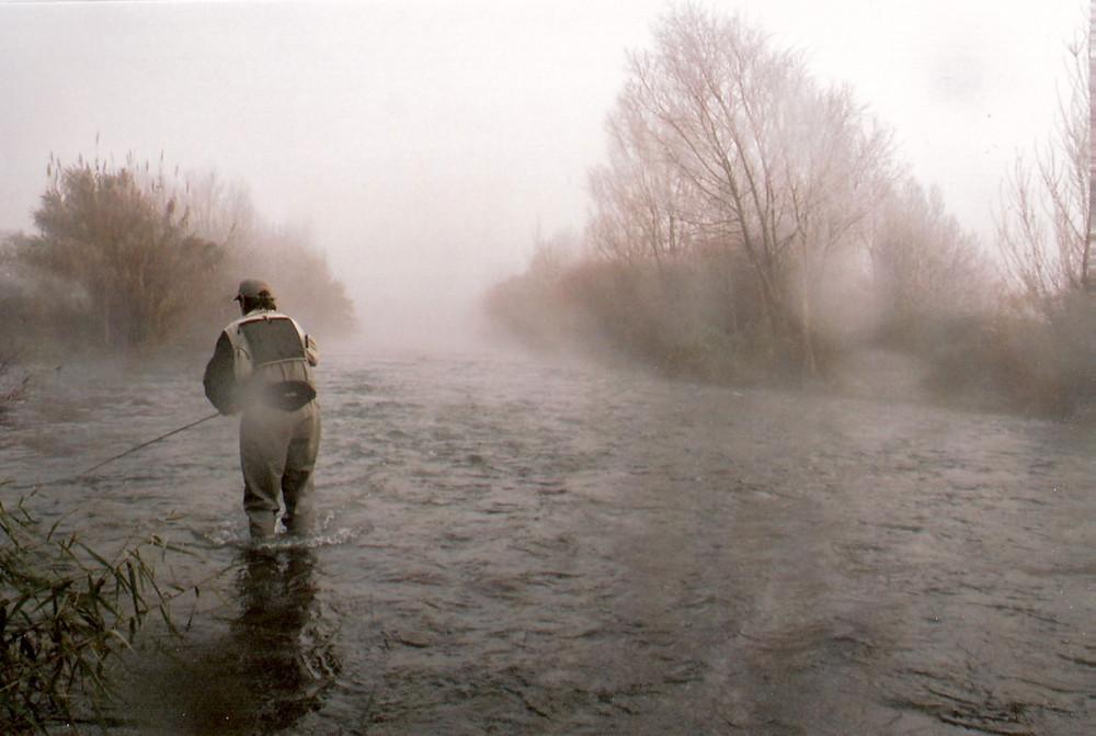 El pescador que surgió del frío