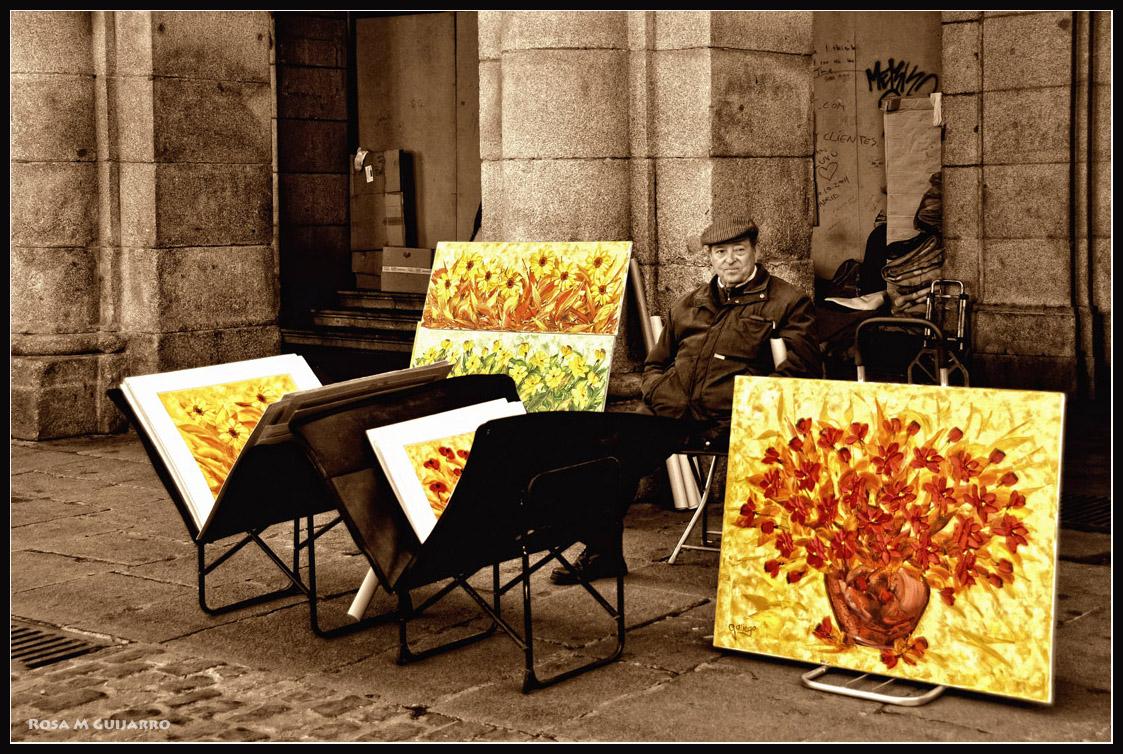 El pintor de flores