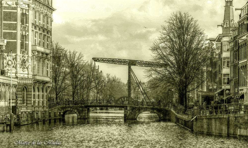 ...el puente...