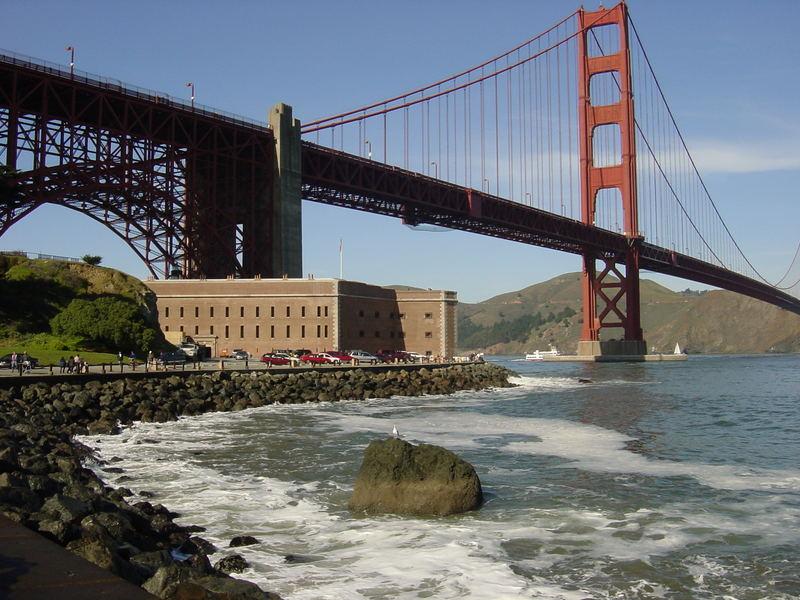 El puente Golden gate.