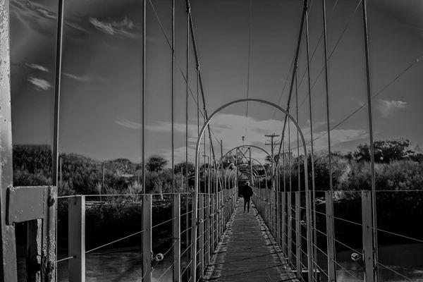 El puente peatonal I