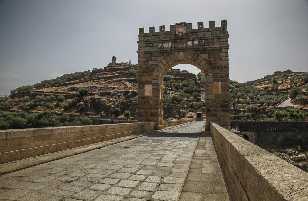 El Puente Romano de Alcántara (Cáceres Extremadura España)