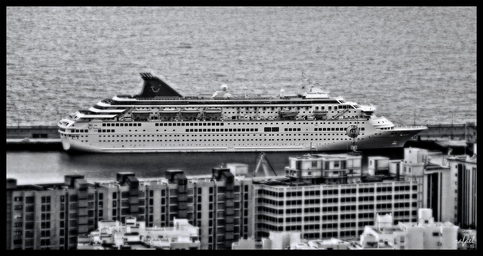 El reposo del crucero