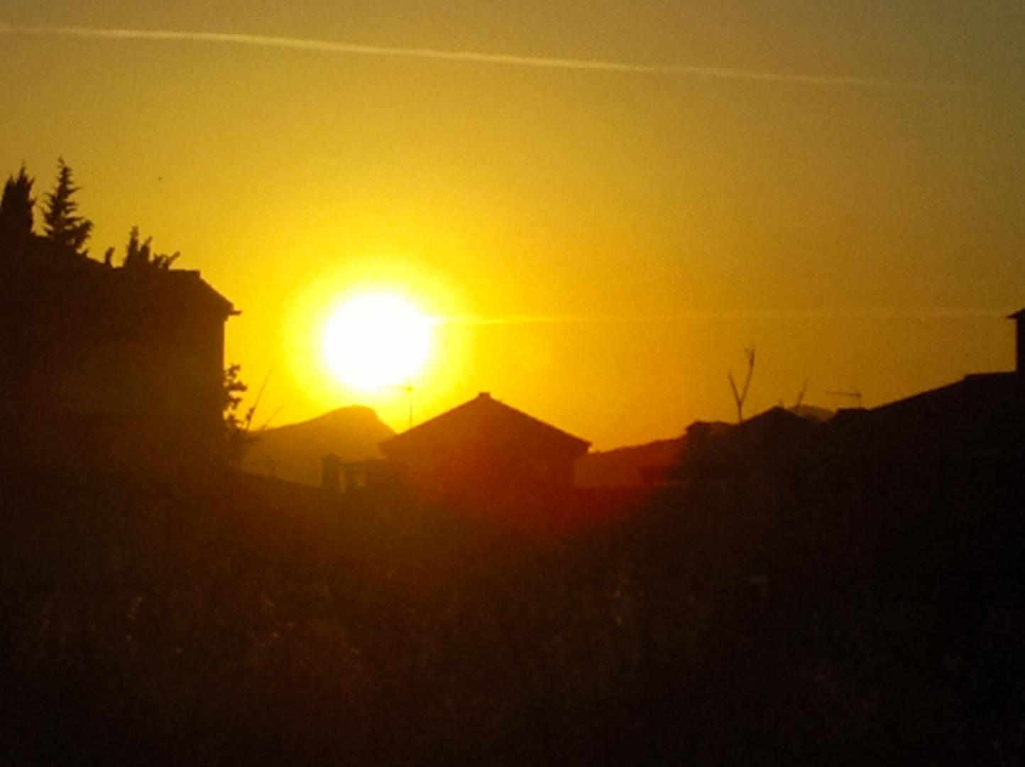 El sol fugaz