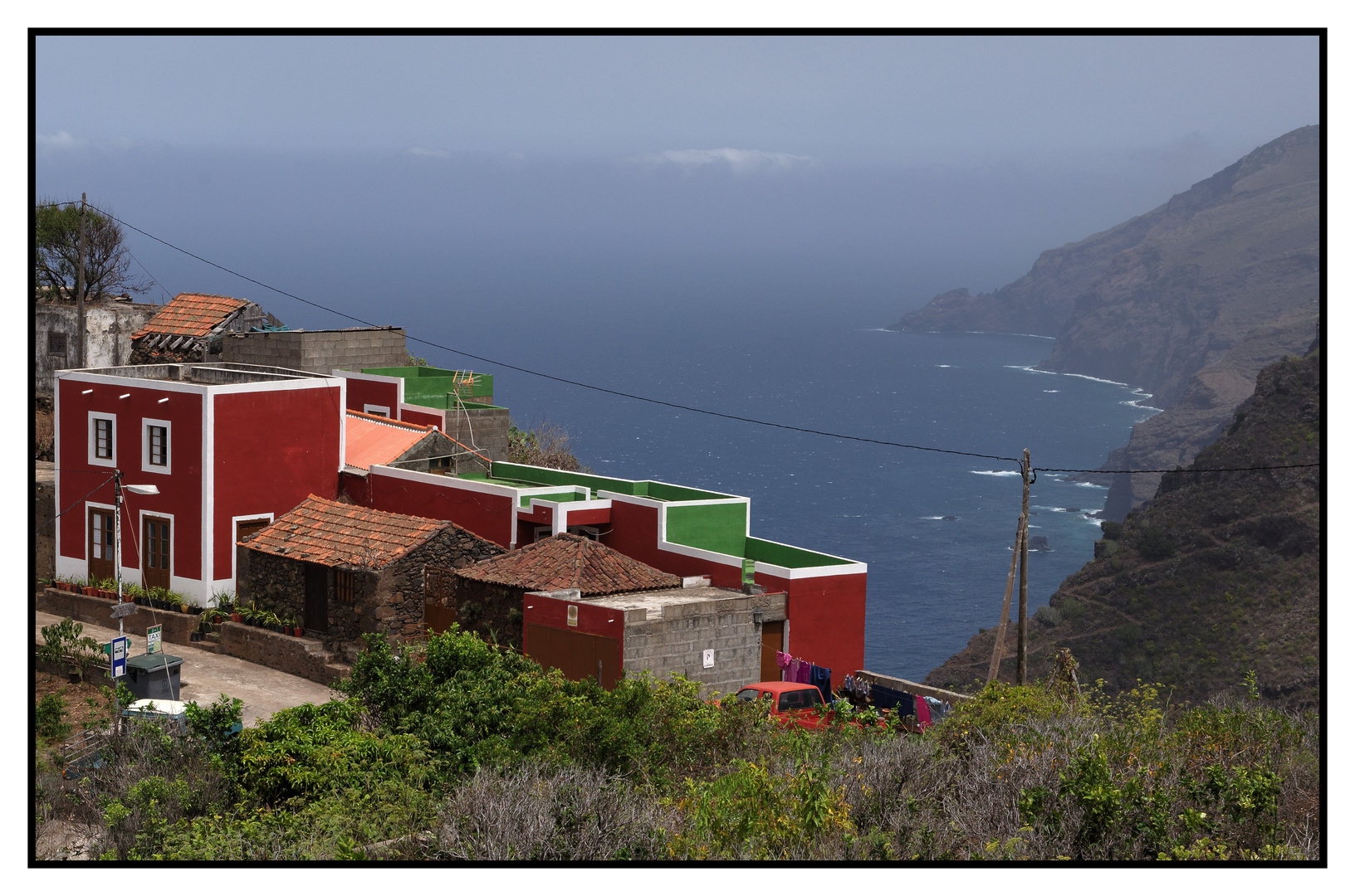 El Tablado, Nordküste La Palma, August 2013