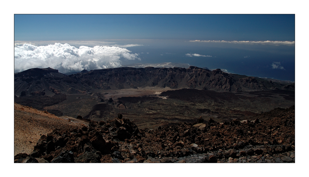 El Teide: La Caldera
