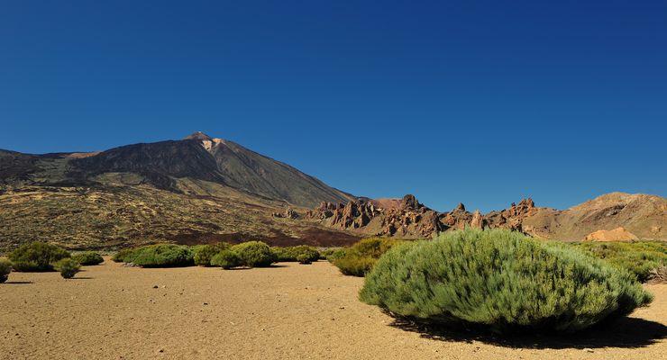 El Teide und Roques de García