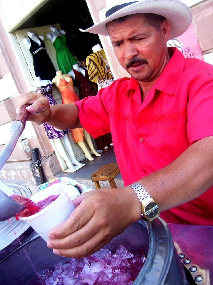 El tizanero de la Plaza Baralt, Maracaibo.