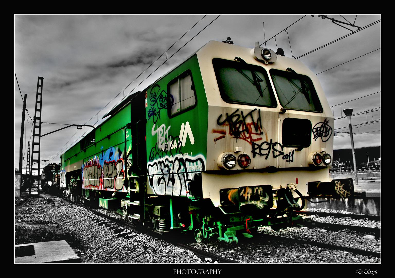 El tren de los colores