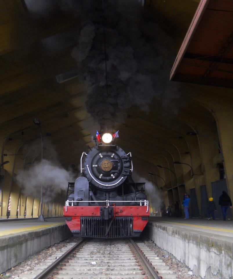El tren del poeta, Temuco, Chile