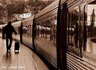 El ultimo viajero de pasajeros al tren