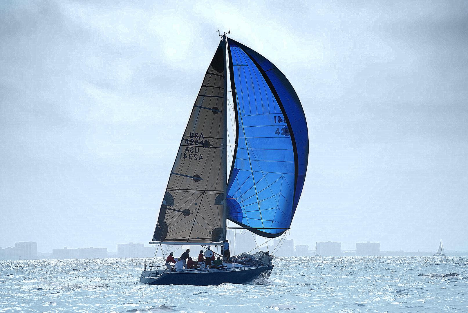 El velero azul