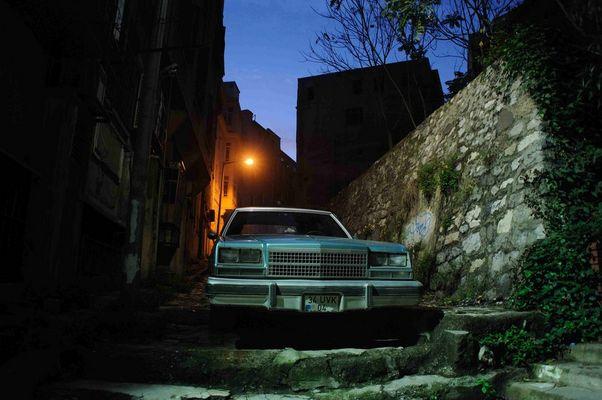 el viejo Buick en la vieja calle...en la vieja ciudad