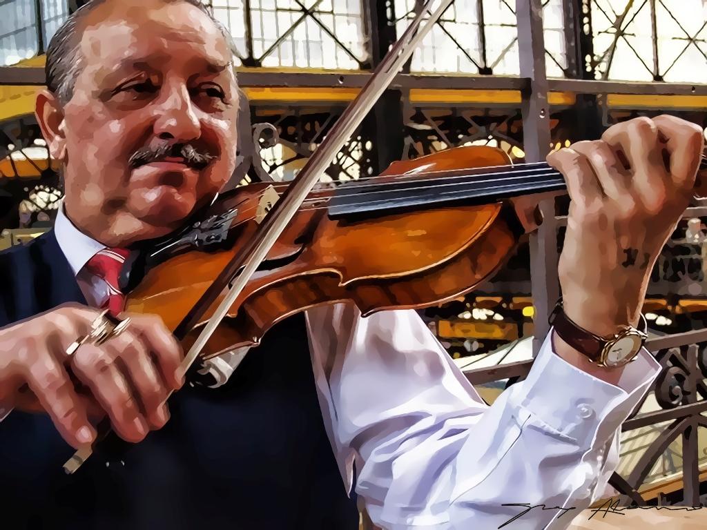 El violinista del mercado
