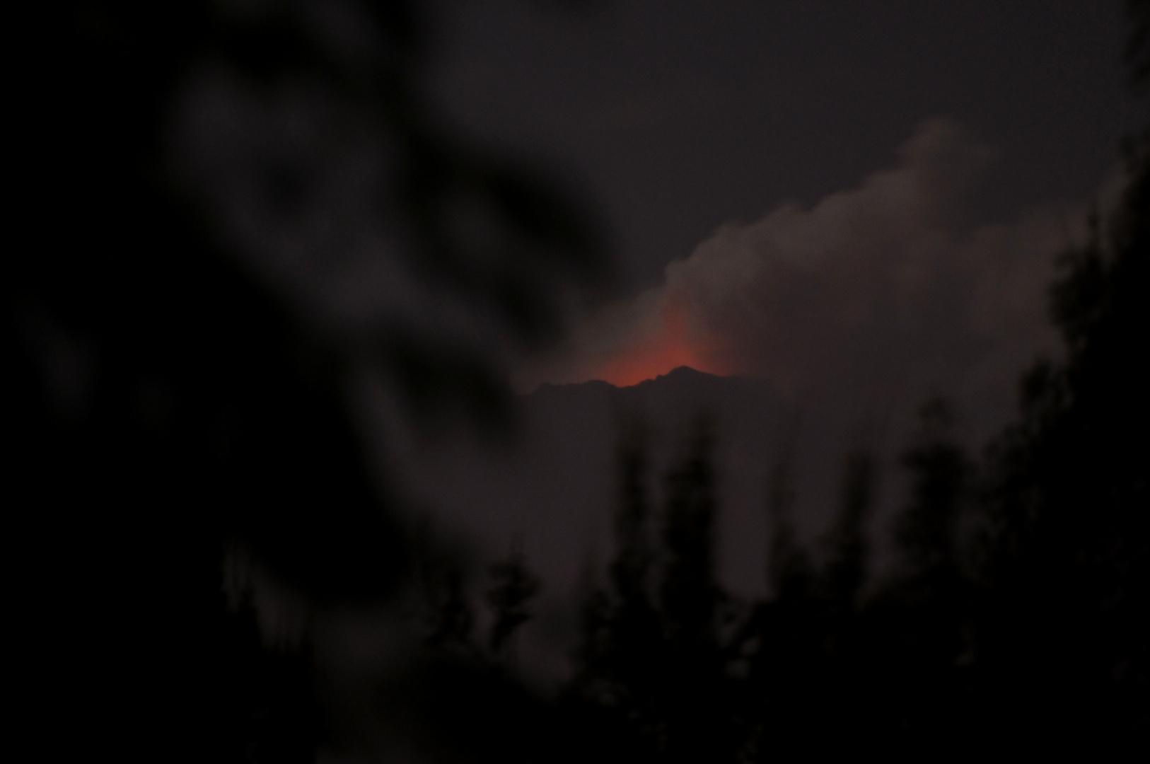 El volcán Popocatépetl está vivo!