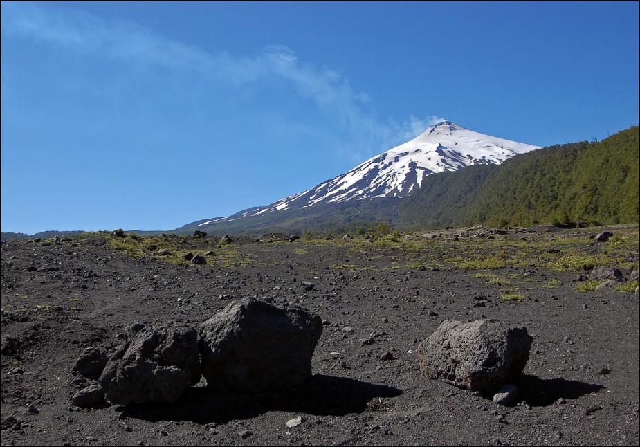 el volcán Villarica