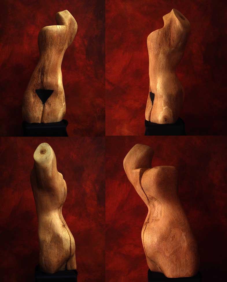 Ela Skulpture Eiche