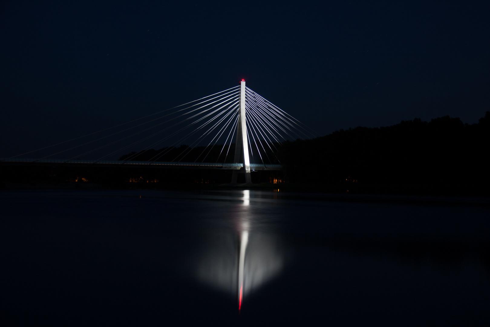 Elbauenbrücke in Schönebeck