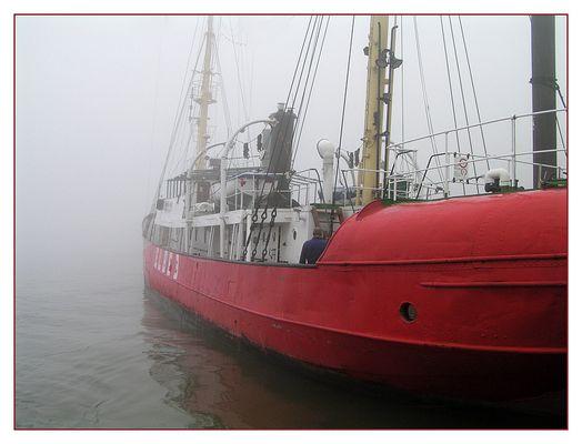 ELBE 3 im Nebel!