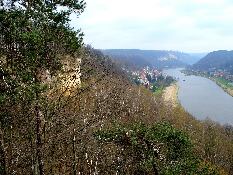 Elbe bei Wehlen