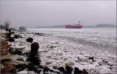 Elbe Eis