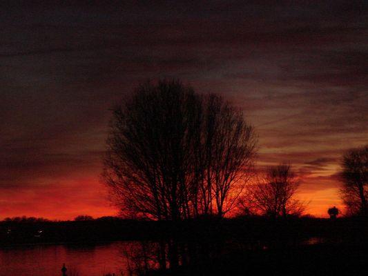 Elbe im Februar 08