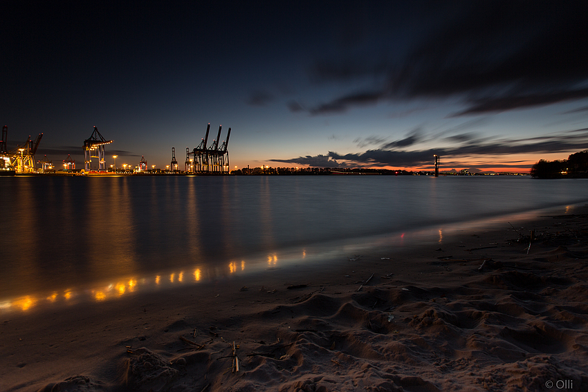 """Elbe """"Nord(see)strand"""""""